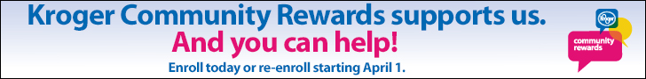 Kroger Community Rewards enrollment image